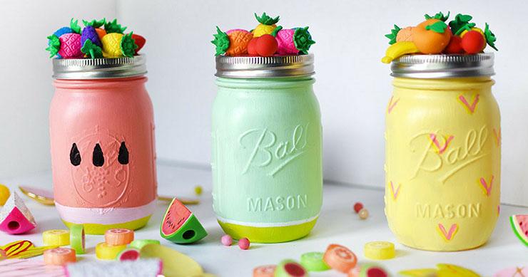 Stunning Mason Jar Homemade Christmas Gifts