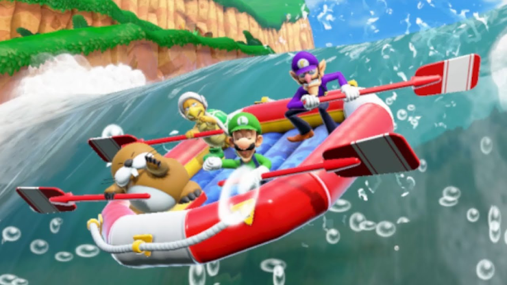 super mario party raft mod