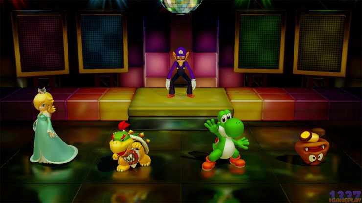 sound stage mode super mario party