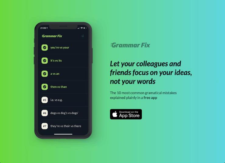 grammar fix app