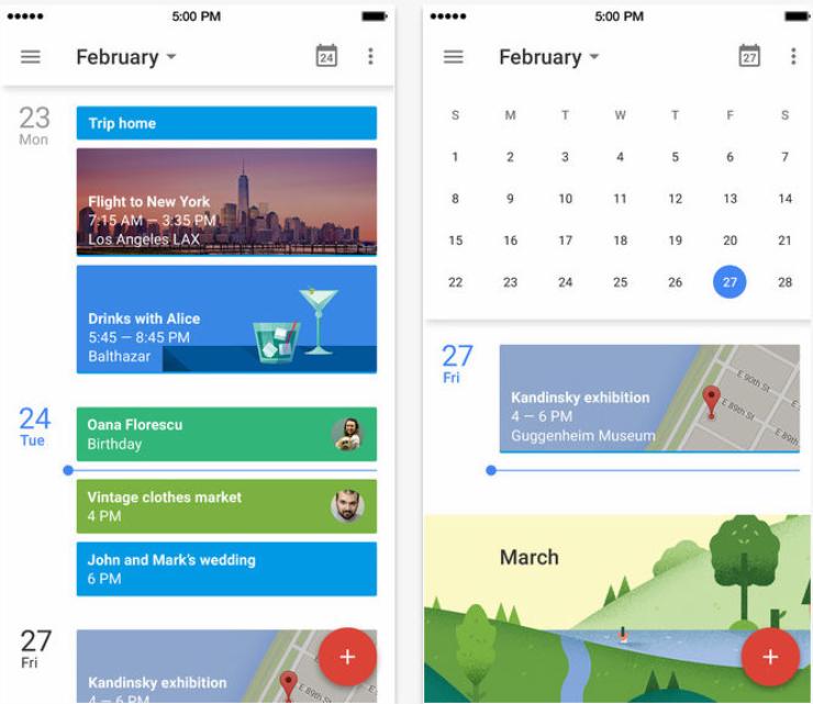 calendario di google