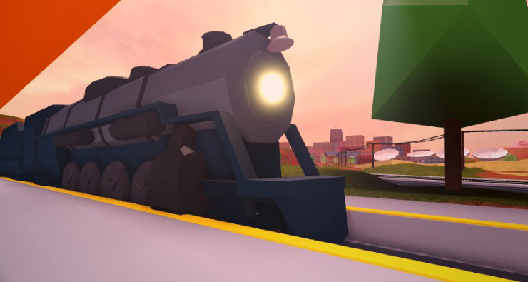 passenger train roblox