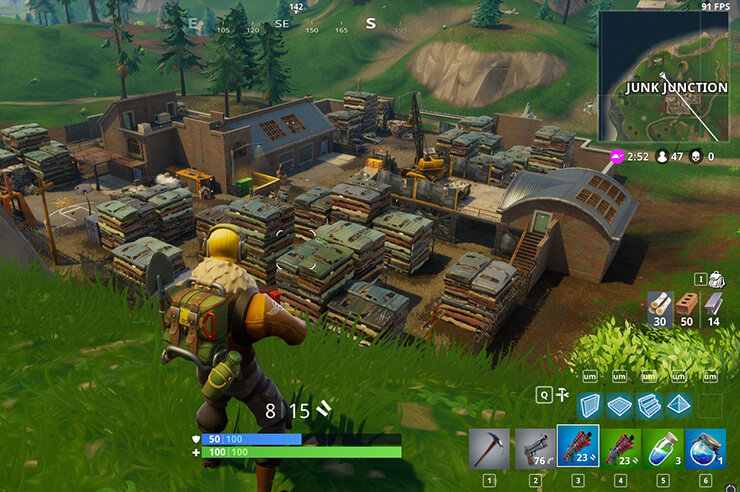 junk junction loot fortnite