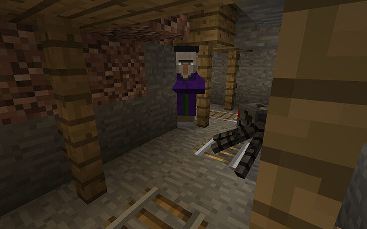 village mineshaft seed