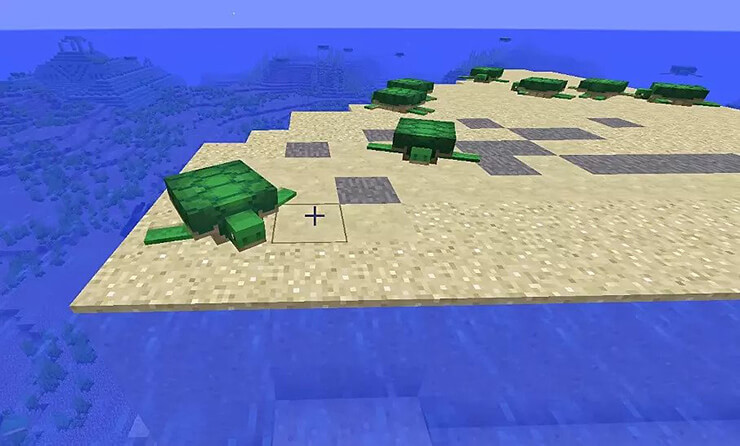 turtle beach seed minecraft