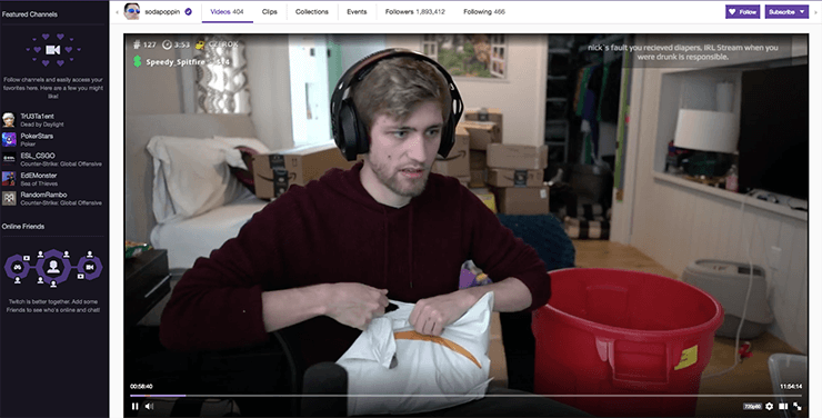 10 Most Popular Twitch Streamers