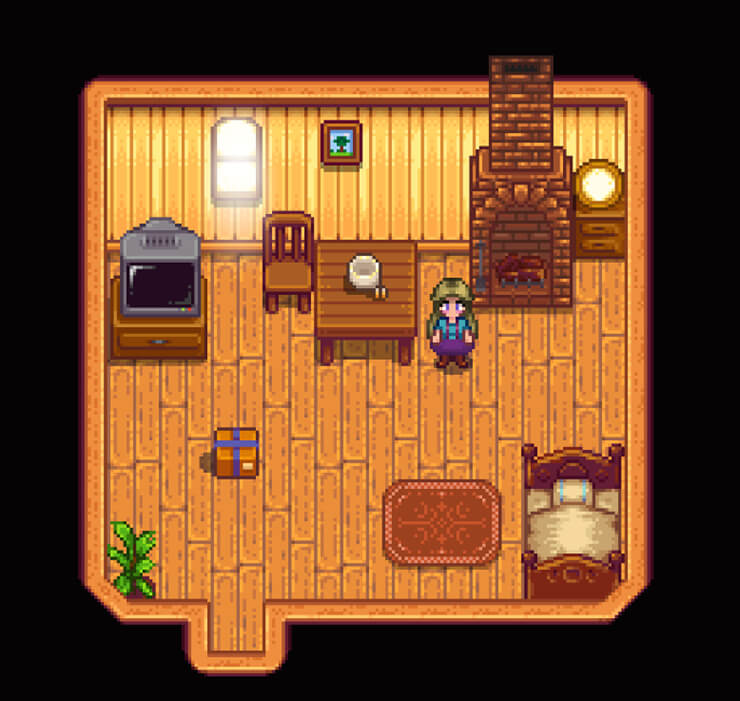 stardew valley get dressed