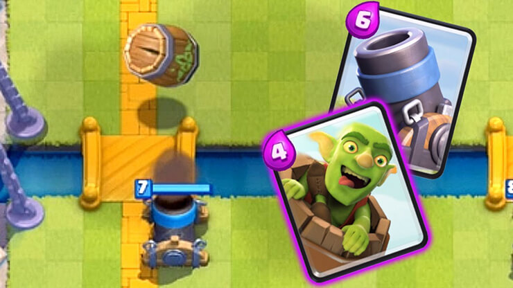clash royale mortar deck