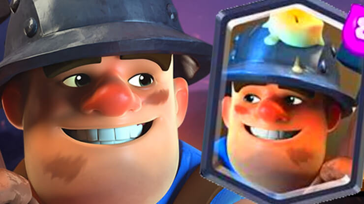 clash royale miner deck