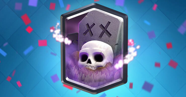 clash royale graveyard deck