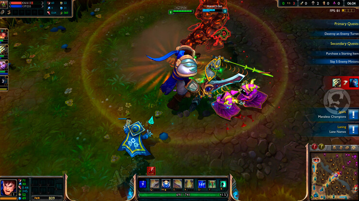 league of legends game Addicting Video Games