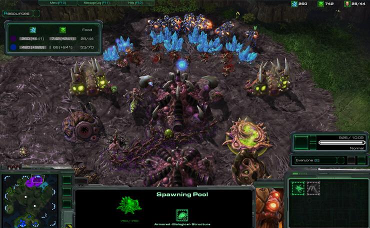 starcraft 2 game