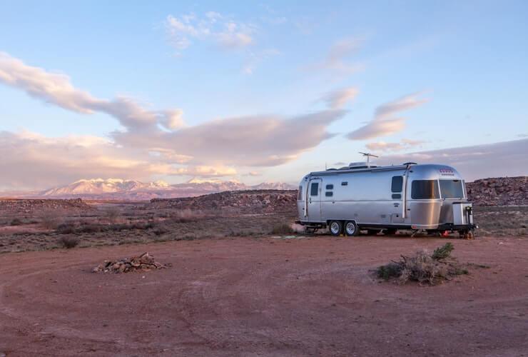 off-grid living trailer