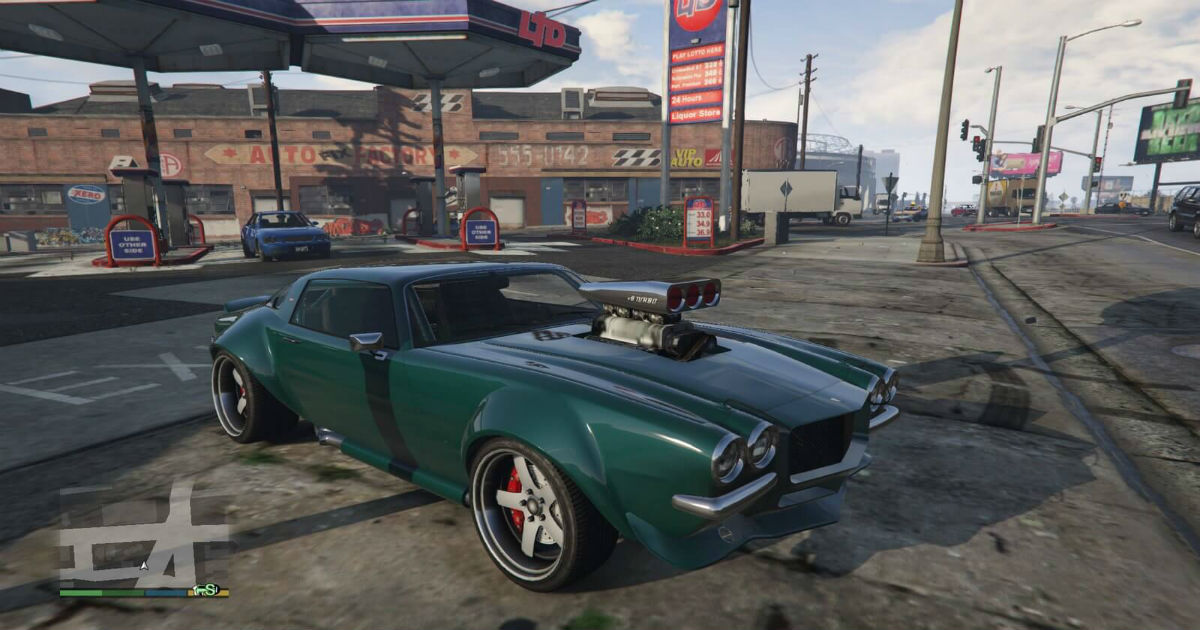 7 best cars in gta online
